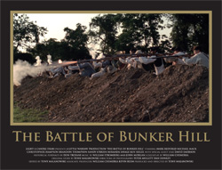 Collectors Edition Lobby Card Set - The Battle of Bunker Hill