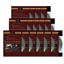 15-DVD Bulk package - The Battle of Bunker Hill